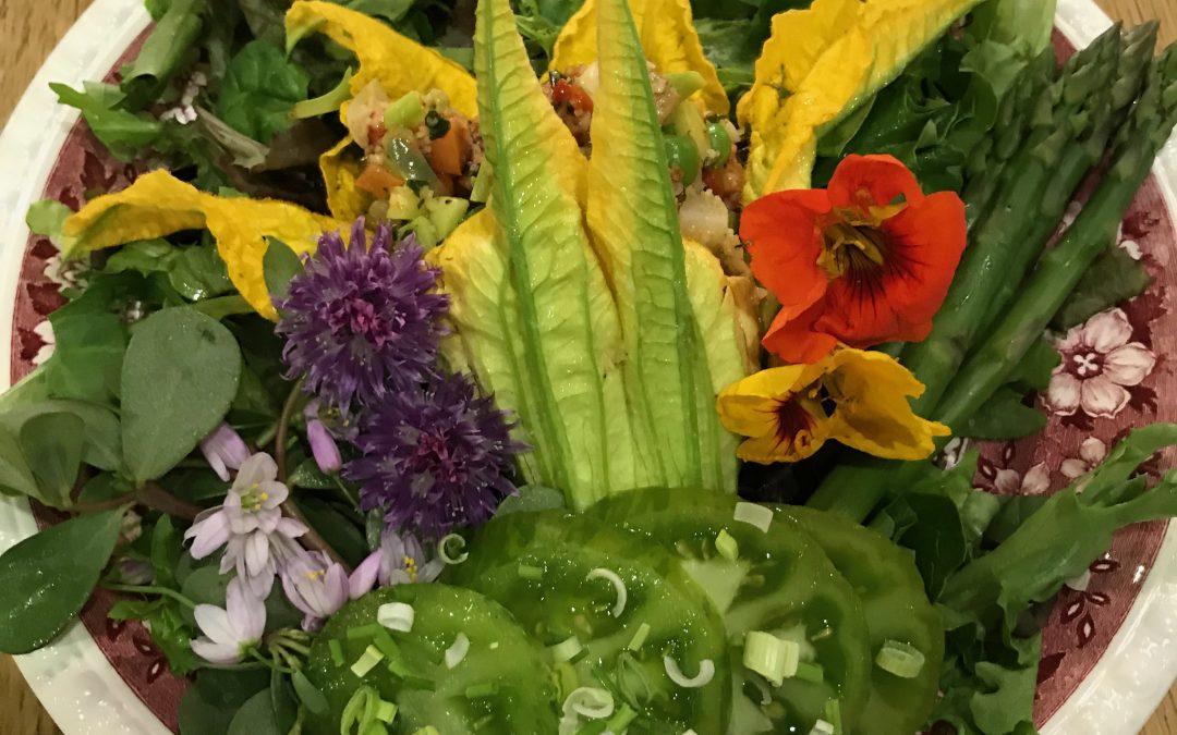 Courgettes en Fleurs