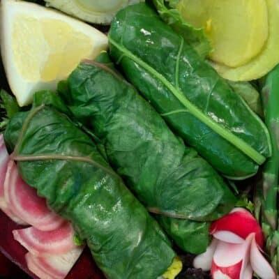 Dolmas de Blette aux Légumes